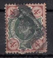 Avénement Edouard VII   4d  N°112 - Gebraucht