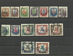 Lithuania 1930 Mi. 293 / 306