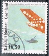 2010 - GROENLANDIA / GREENLAND - AVIAZIONE IN GROENLANDIA - USATO / USED. - Groenlandia