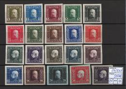 Bosnien und Herzegowina - 1912/1914 - Michel Nr. 64/83 U - sehr hoher KW!!!