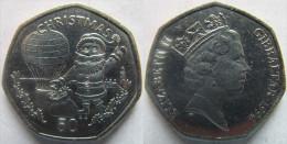 "Gibraltar 50 Pence 1994 ""Christmas"" UNC KM# 294 - Gibilterra"