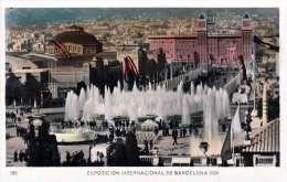 BARCELONA 1930 - EXPO INT 1929, 25 C Frankierung, Karte Gel.nach Crikveniza - Barcelona