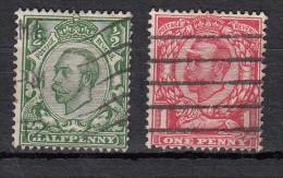 Georges V N°129 & N°130 - 1902-1951 (Rois)