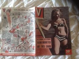 Pin-up. V. N° 251. 6 éme Année Juillet 1949. J DAVID Humour Femme Maillot De Bain - Libri, Riviste, Fumetti
