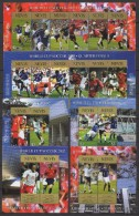 Nevis (2002)  Yv. 1625/30 + 1640/45 + Bf. 219/20 + Bf. 223/24  /  Soccer - Calcio - FIFA World Cup Japan - Korea - Wereldkampioenschap