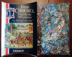 Jeu Publicitaire CANAL+ : Puzzle Frère CADFAEL 500 Pièces NEUF Sous Blister - Puzzles