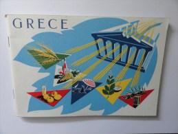 GRECE.Livret Ministère Du Commerce Athènes,1956 (V.14 Clichés) - Géographie
