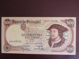 Portugal   -   500 Escudos  1966   -  UNC - Portugal