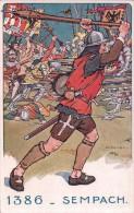Elzingre Ed. Armée Suisse, Equipements, Bataille Sempach 1386 - Illustrateurs & Photographes