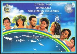 Salomoninseln Solomon 2000 Organisationen Commonwealth Jugendliche CYMM Menschen Volk Völker, Bl. 60 ** - Salomoninseln (Salomonen 1978-...)