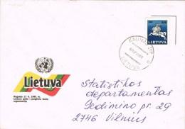 13498. Carta KAUNAS (Lietuva) Lituania 1993