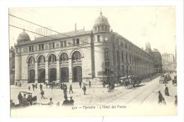 Cp, 13, Marseille, L´Hotel De La Poste - Marseille