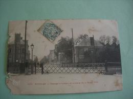 ROMILLY SUR SEINE 10 AUBE 1904 Passage A Niveau Maps Postcard Postkarte Cartolina Postale - Romilly-sur-Seine