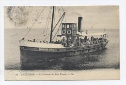 33-ARCACHON, LE COURRIER DU CAP FERRET-RECTO/VERSO -C22 - Arcachon