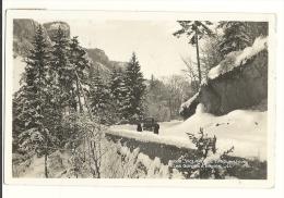 Cp, 38, Villard-de-Lans, En Hiver, Les Gorges D'Engins, Voyagée - Villard-de-Lans