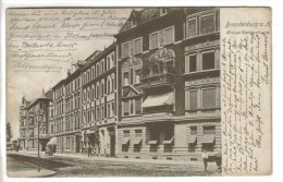 CPA PIONNIERE BRANDENBURG (Allemagne-Brandebourg) - Grosse Gartenstrasse - Brandenburg