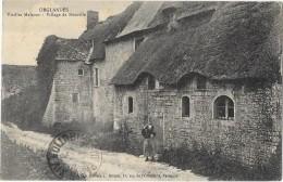ORGLANDES (50) Vieilles Maisons Village De Rouville - France