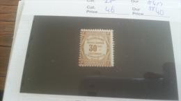 LOT 264305 TIMBRE DE FRANCE NEUF** N�46 VALEUR 40 EUROS