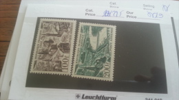 LOT 264373 TIMBRE DE FRANCE NEUF** N�24/25 LUXE