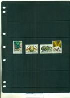 BELGIQUE  INSECTES 4 VAL  NEUFS - Insectes