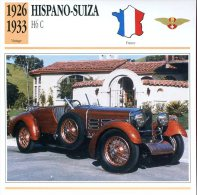 France 1926-33 - Hispano-Suiza H6 C - Automobili