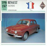 France 1956-67 - Renault Dauphine - Voitures
