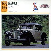 Grande Bretagne 1931-36 - Jaguar SS One - Voitures