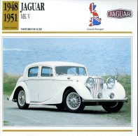 Grande Bretagne 1948-51 - Jaguar MK V - Automobili