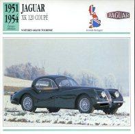 Grande Bretagne 1951-54 - Jaguar XK 120 Coupé - Automobili