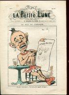 La Petite Lune  Numero  8   Dessins De Gill  4 Pages - 1801-1900