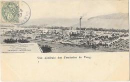 FOUG (54) Vue Générale Des Fonderies - Foug