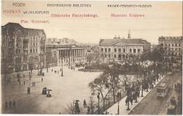 POZNAN POSEN (Pologne) Bibliothèque Musée - Pologne