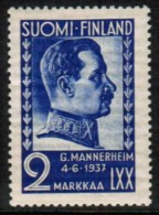 1937 Finland, Mannerheim **. - Finland
