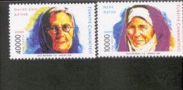 CEPT Berühmte Frauen / Famous Women Türkei 3074 - 3075 ** Postfrisch, MNH, Neuf - Europa-CEPT