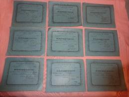 College De CETTE Classe De 6eme Et 5eme-exemption-année 1893-eleve Alberge - Diploma & School Reports