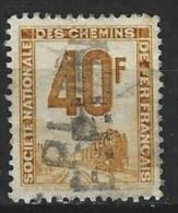 """Petits Colis YT 14 """" 40F. Ocre """" 1944-47 Oblitéré - Paketmarken"""