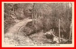 **SAINT JEAN DU DOIGT  Sous-bois Menant à La Vallée Des Moulins  (scan Recto Verso) - Saint-Jean-du-Doigt