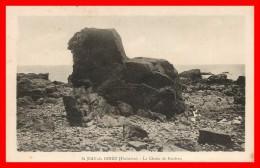 **SAINT JEAN DU DOIGT La Chaise De Kerdren(scan Recto Verso) - Saint-Jean-du-Doigt