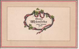 AK Beste Wünsche Zum Neuen Jahre - Patriotika - 1915 (16081)