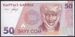 Kyrgyzstan 50 Som 1994 P11 UNC - Kirghizistan