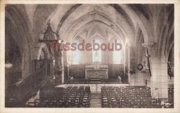 42  - St JEAN SOLEYMIEUX - Interieur De L'Eglise 1958 - 2 Scans - Saint Jean Soleymieux
