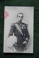 2 CPA Représentant S.M DON ALFONSO XIII , Rey, Y S.M DONA VICTORIA EUGENIA Y El Principe - Familles Royales