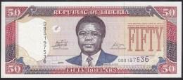 Liberia 50 Dollar 2011 P29 UNC - Liberia