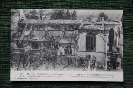 Guerre 1914 - Clermont En Argonne - L´Eglise Prise De La Cote Sainte Anne - Guerre 1914-18
