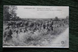 Guerre 1914 - Bataille De La Marne, Les Réserves Avant L´action à VERTUS - Guerra 1914-18