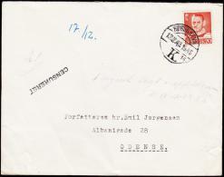 1949. KØBENHAVN 17 12 1949. Forfatteren Svend Aage Emil Jørgensen, Albanigade 28, Odens... (Michel: ) - JF175591 - Non Classés