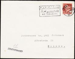 1950. KØBENHAVN 6 JAN 1950. Forfatteren Svend Aage Emil Jørgensen, Albanigade 28, Odens... (Michel: ) - JF175590 - Non Classés