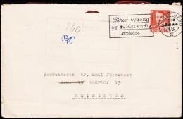 1950. KØBENHAVN 3 MAR 1950. Forfatteren Svend Aage Emil Jørgensen, POSTBOX 13, Helsingø... (Michel: ) - JF175588 - Non Classés