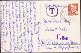 1952. T + T.50 LANDET PR. SVENDBORG 5.5.52.  (Michel: ) - JF175626 - Postage Due