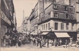 PARIS VII° Angle Rue Saint DOMINIQUE Et JEAN NICOT Animé Commerces Vue Sur La TOUR EIFFEL - Distretto: 07